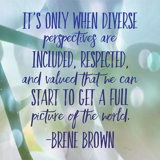 Humanity is beautifully diverse. The more divisive we get, the more beauty we lose. Everyone's expression of what it means to be human is valuable, worthy, and in need of being affirmed. It's time for us to adopt a mindset of inclusion. It's the only way we will truly understand the complexity of ourselves. @brenebrown  #eatingdisorderawareness #eatingdisorderrecovery #dallastherapist #addiction #recovery #edwarrior #bopo #bopowarrior #effyourbeautystandards #bodypositive #inspiration #motivation #change #therapist #therapy #therapistlife #personalgrowth #healthylifestyle #dallas #whitneyrusselllpc #womensupportwomen #feminism #empowerment #womeninspiringwomen #momlife #motherhood #postpartum #postpartumbody #dietculture #fuckdietculture
