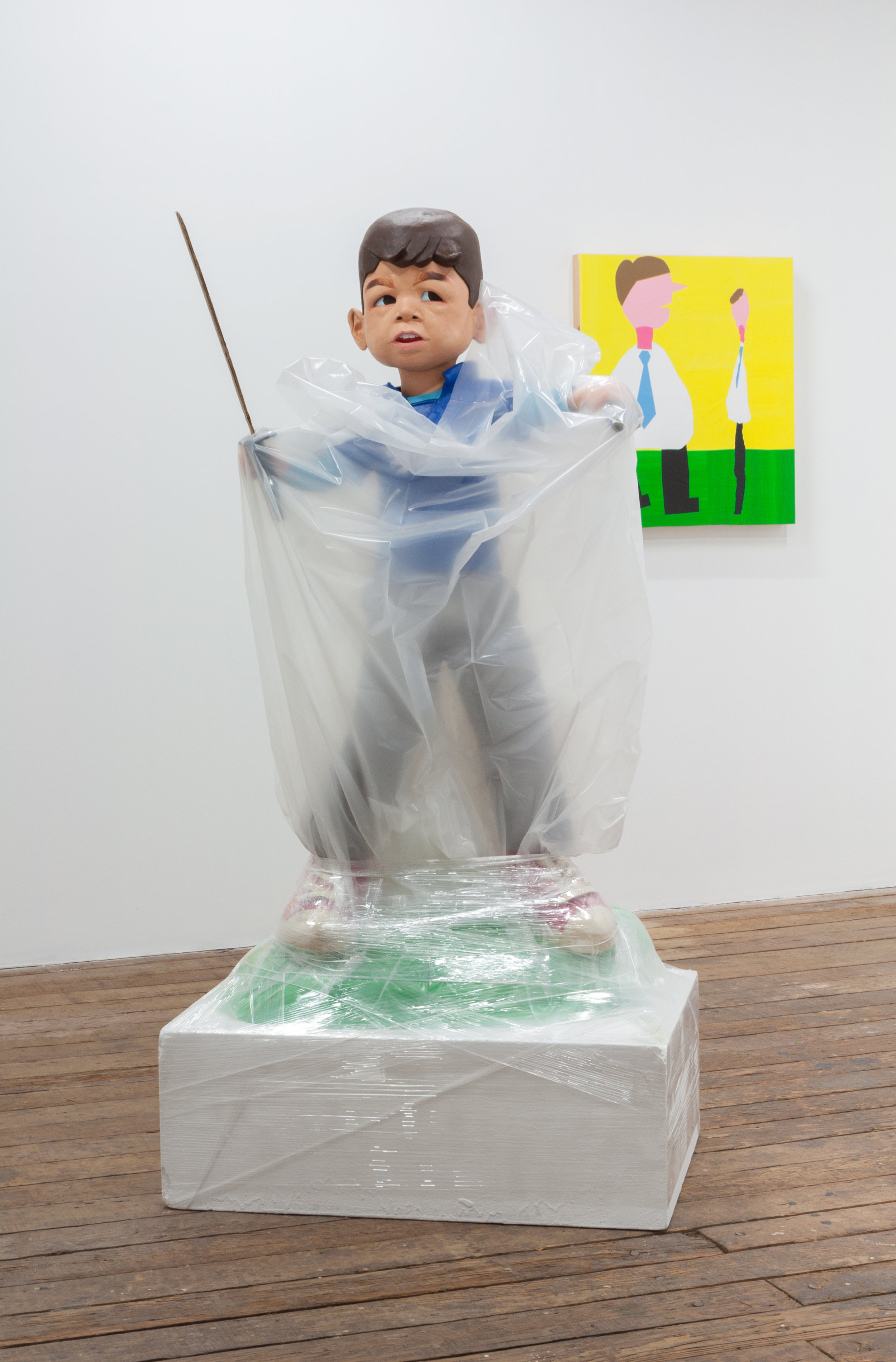 Carolina Maki Kitagawa,  when everything seems fine , 2016, ceramics, cardboard, plastic