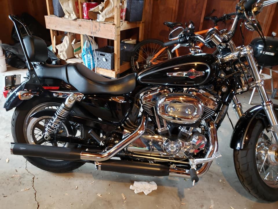 2017 Harley Davidson Sportster 1200 Custom XL