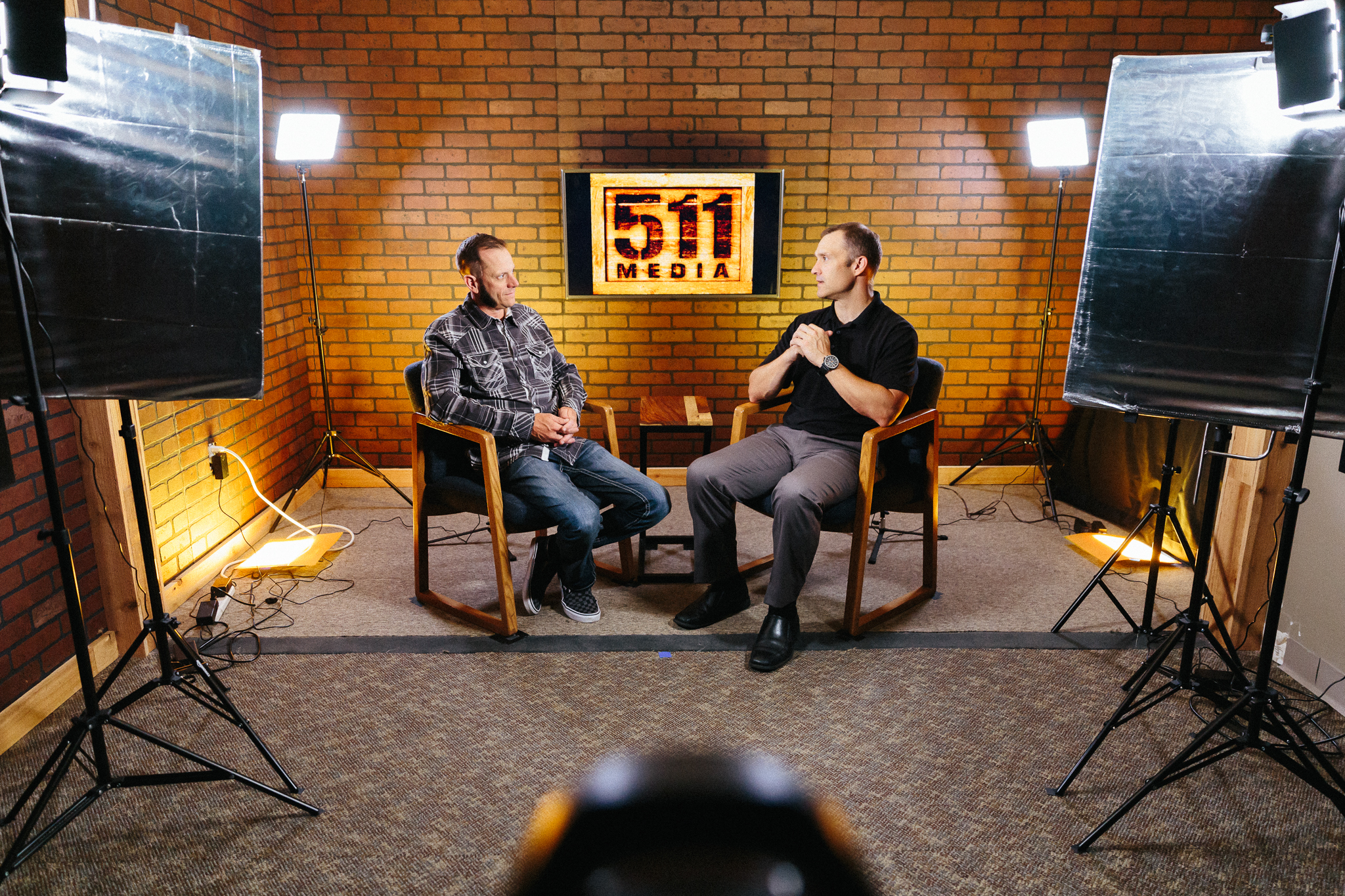 VIDEO Production - We're set up and ready to record your video podcast, interview, client testimonial, or training video.