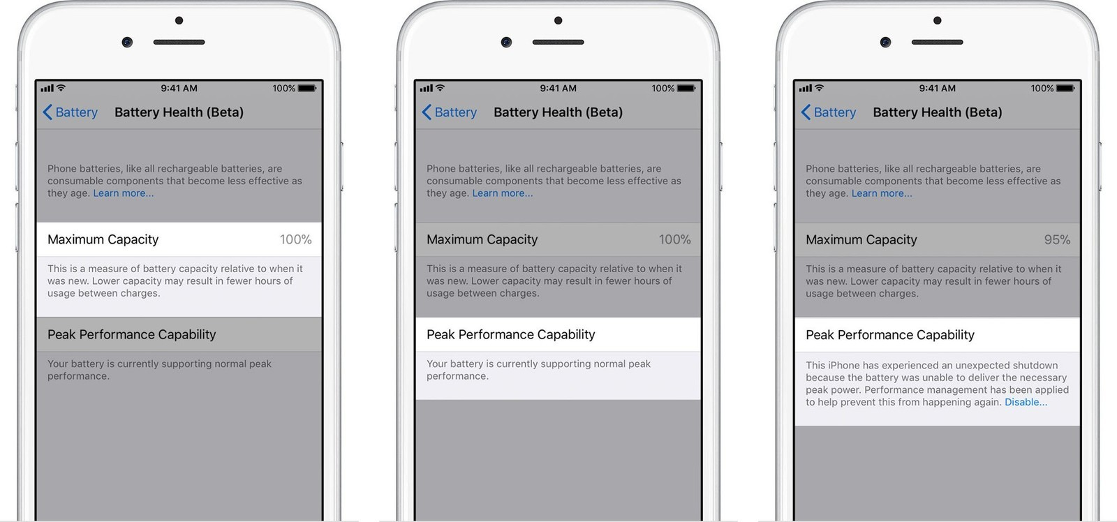 Apple Battery Health
