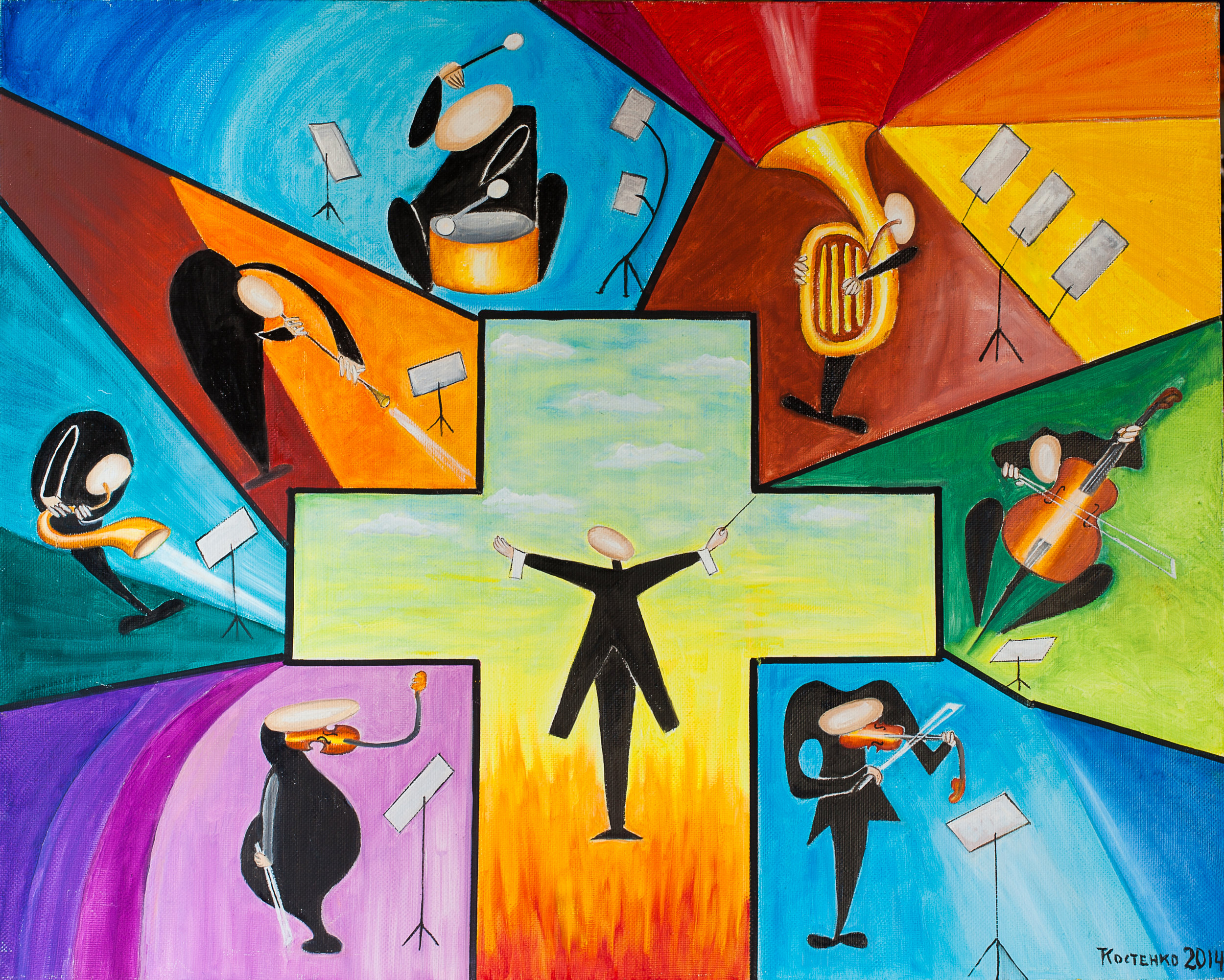 Kostenko - Concert - 2014-canvas-oil-80х100 - inbook.jpg