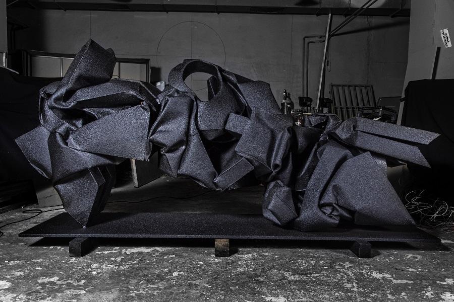I.H.W.M.A., 2014, 130x300x90cm coated mild steel, photo by Richard Kucera Guzman.jpg