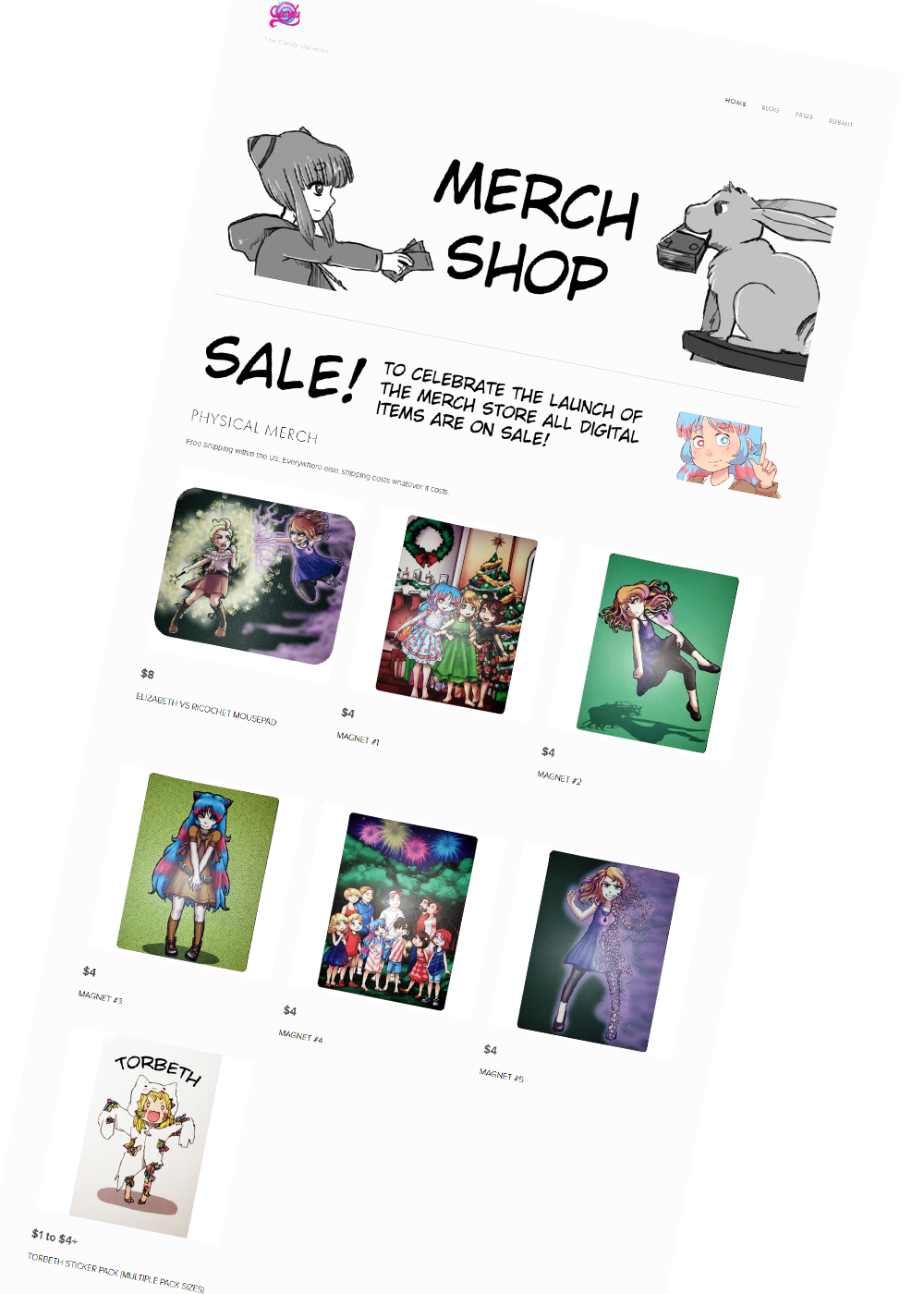 There's digital merch too!