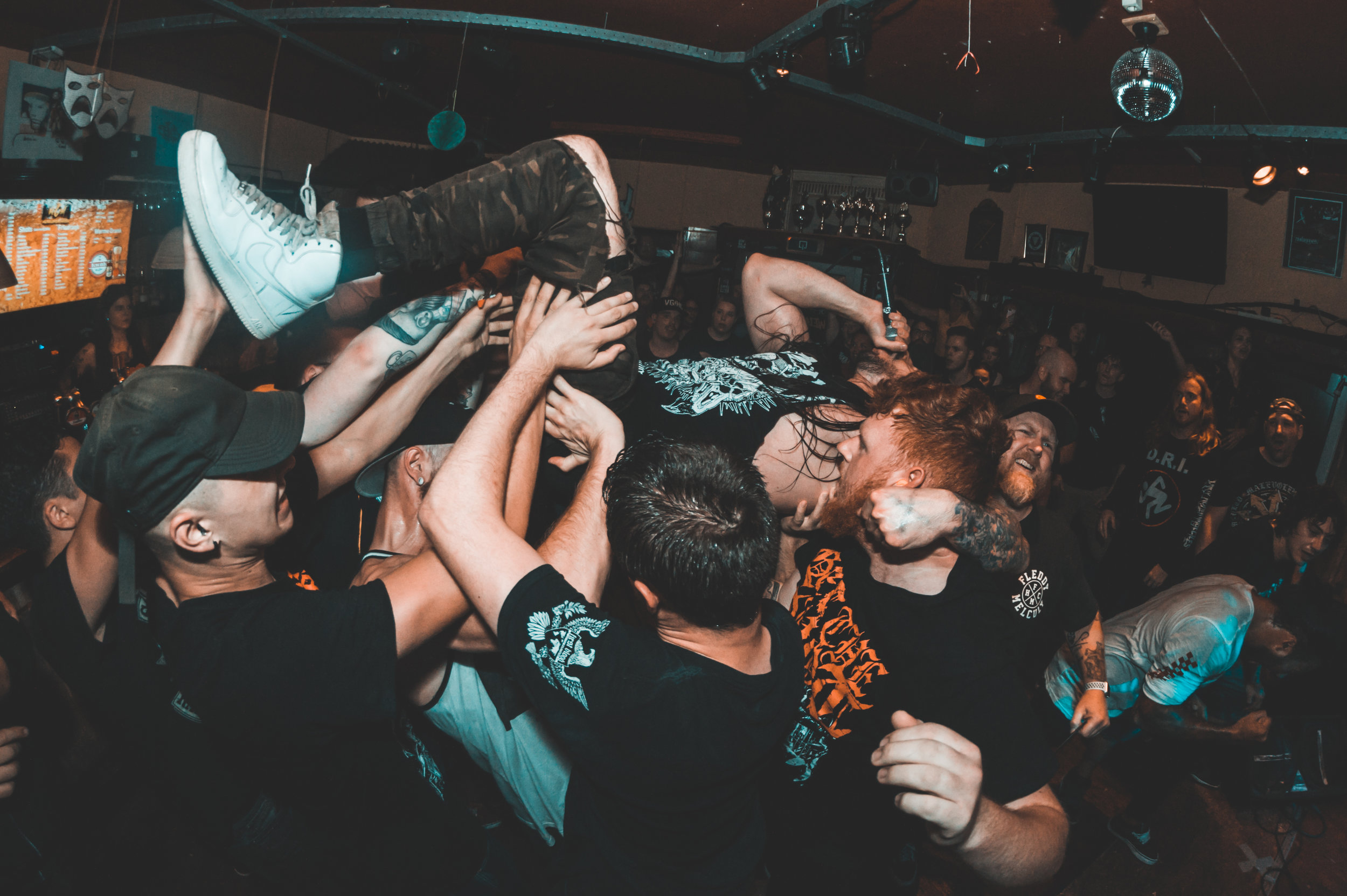 Get The Shot + Higher Power + More @ Cafe Meister - 12/08/2019
