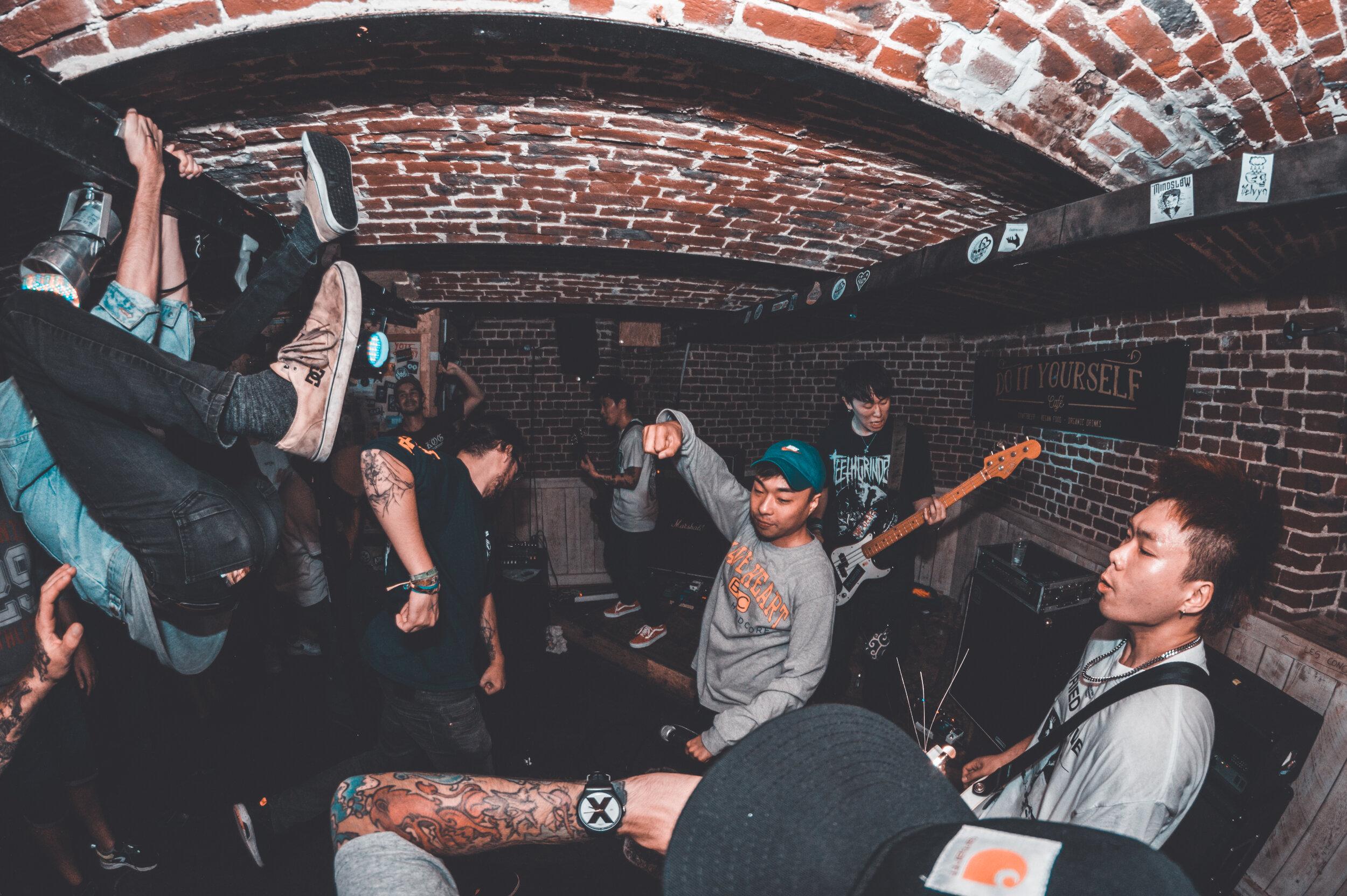 Flush!! + xViciousx + Sick Nerves @ DIY Café - 21-09-2019