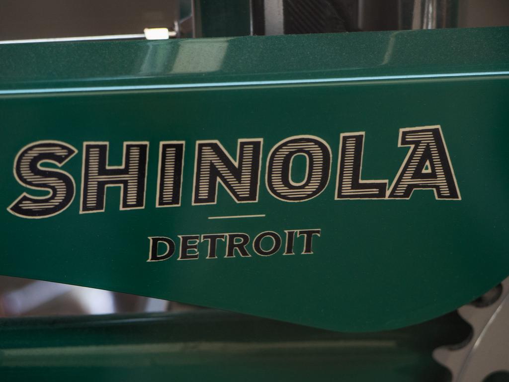 L'esthétique de Shinola fait revivre l'époque euphorique des années 40-50 américaines.