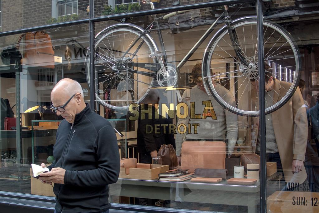 Pour l'heure, Shinola n'a qu'une seule boutique en Europe, à Londres.