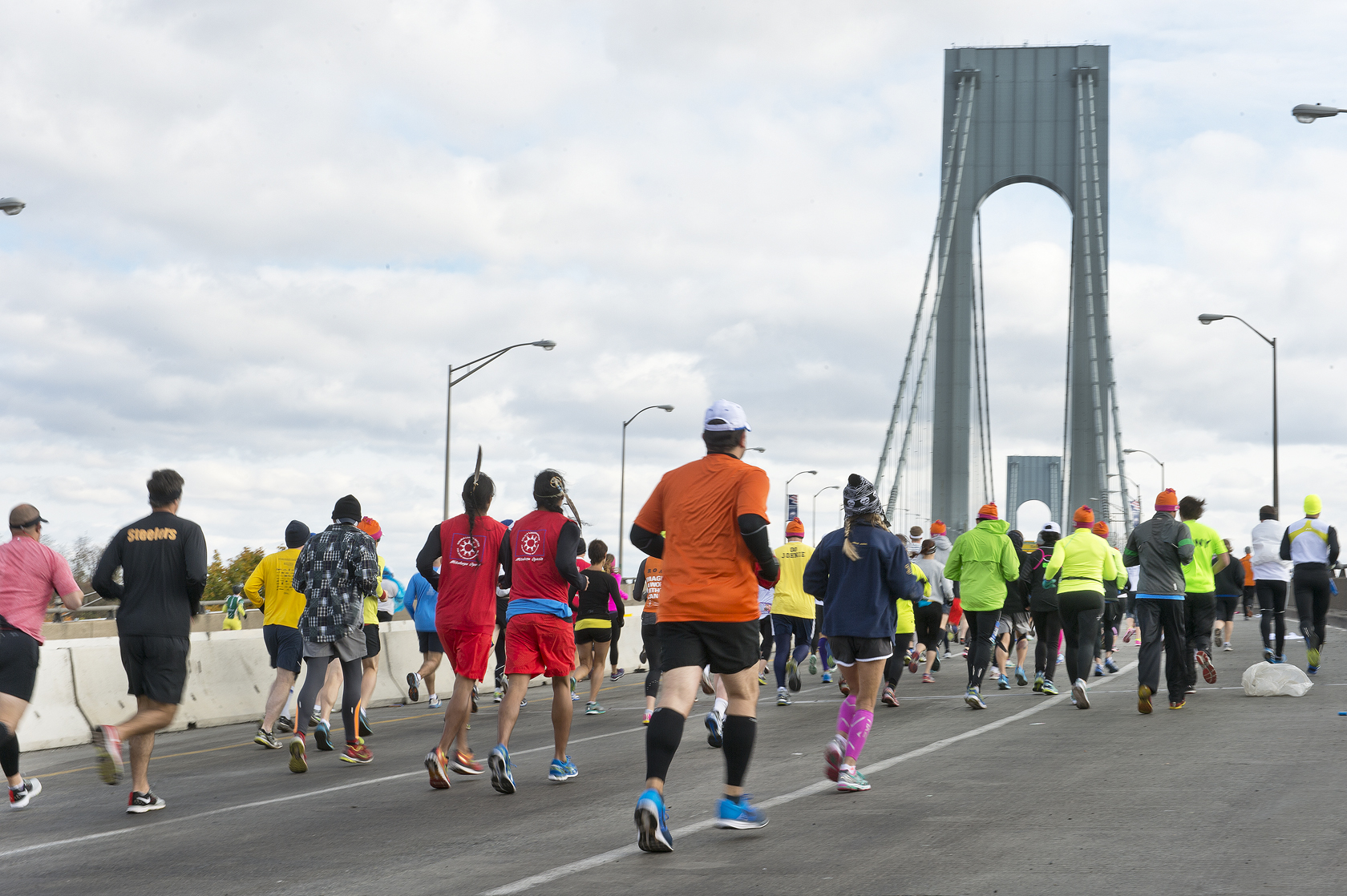 Le film Free to run accorde beaucoup d'importance au Marathon de New-York, épreuve mythique s'il en est.