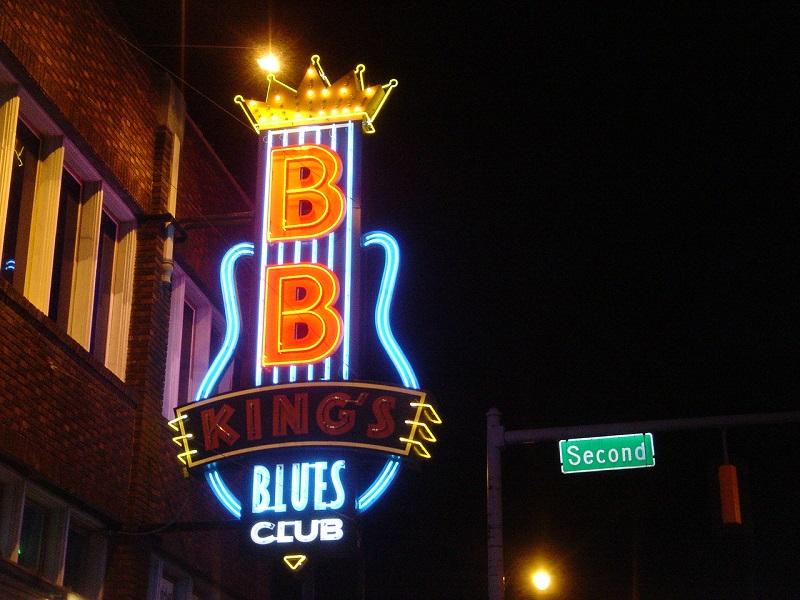 B.B. King, le « Beale Street Blues Boy ».