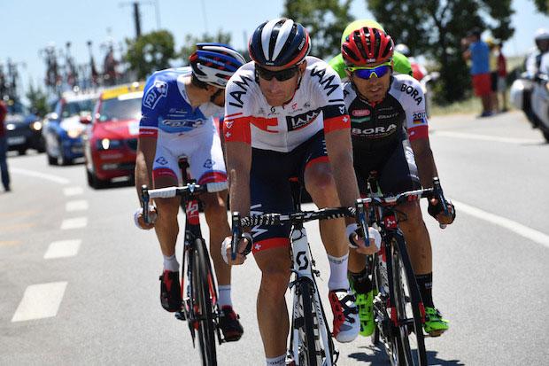 L'aventure IAM Cycling, quatre belles années pour Martin Elmiger.