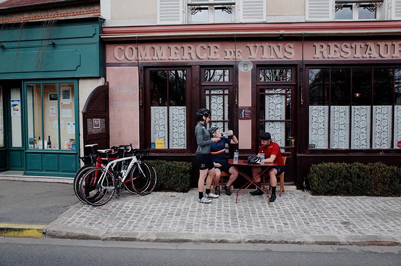 La culture de la sortie en vélo.