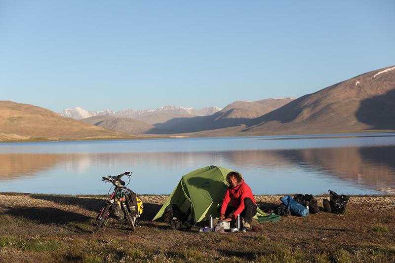 Claude Marthaler au Tadjikistan.