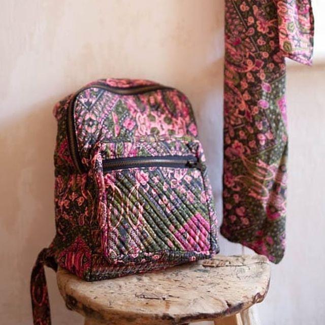 🌺Beautiful new silk bags in today 🌺 #rucksack #bag #silk #goldensheafgallery #narberth #pembrokeshire