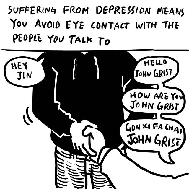 Yeah I'm pretty much just lifejournals now. #depression #bodyimage #comic #cathy #whowouldevenknowthisreference #johngrist #gongxifacai