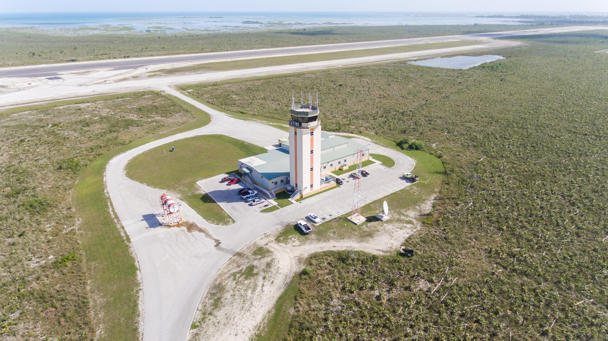 Grand Bahama International Airport Control Tower - Photo: Erik J. Russell