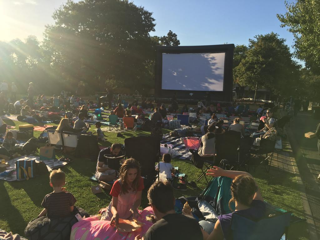 Twilight movies at the Melbourne Zoo - Last summer we screened the Good Dinosaur to a thousand people at our kid's favourite place - The Melbourne Zoo!