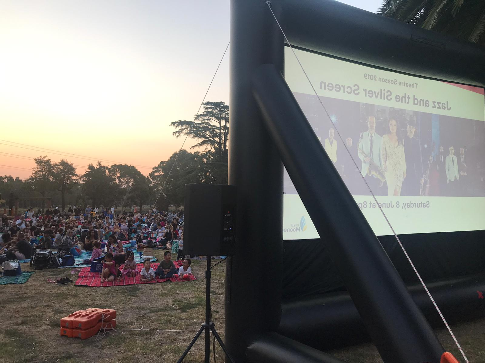 Primary School Fundraiser - Blow Up Cinema provided all you need for school fundraisers - the screen, sound system, BluRay players, microphones and an experienced operator to run the whole show for you. We are also happy to offer you fund-raising ideas so you can make as much money as possible for your school
