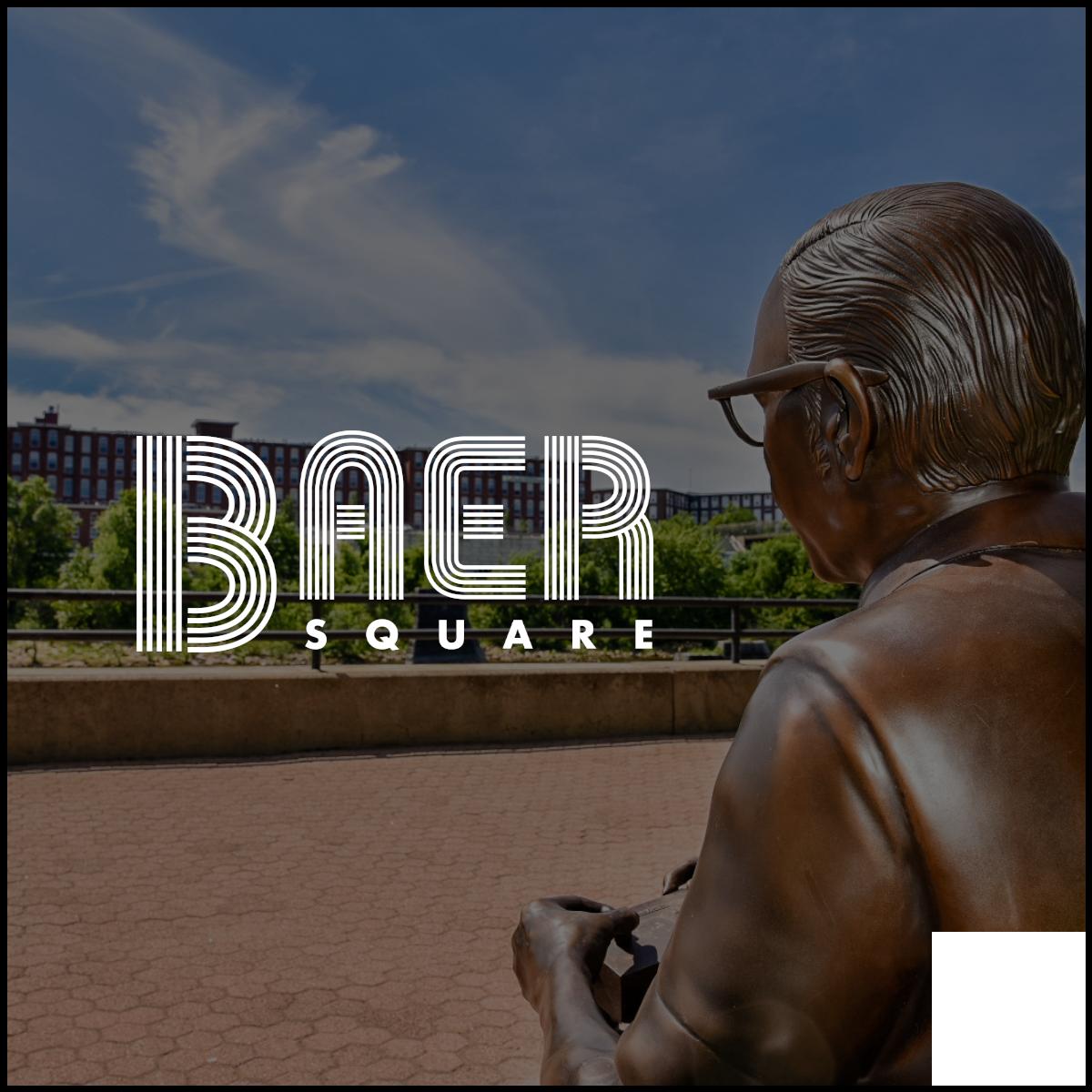 Baer Square Button