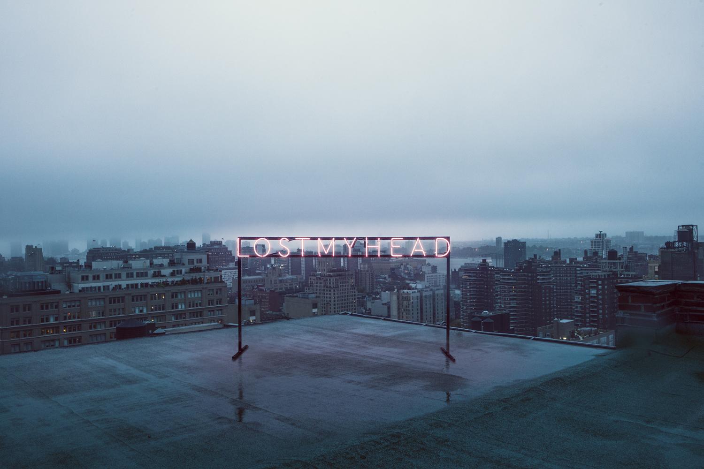 'Lost My Head' — Manhattan Roof Top (NYC, New York)