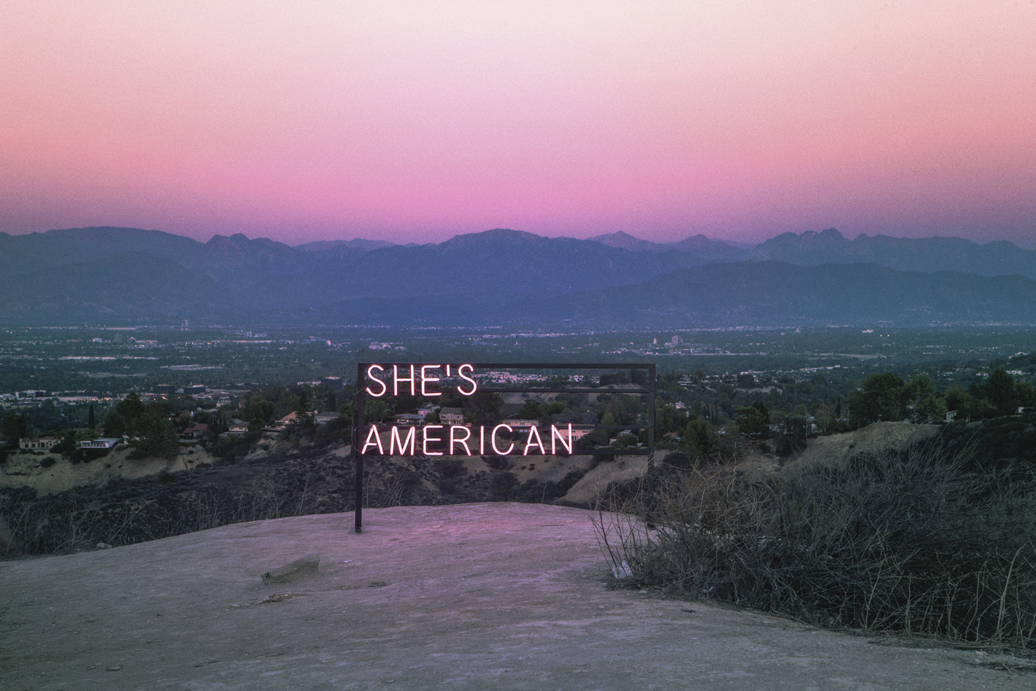 'She's American' — Hollywood (Los Angeles, California)