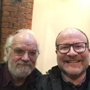 MICHAEL STEED AND STEPHEN M HORNBY (RIGHT)