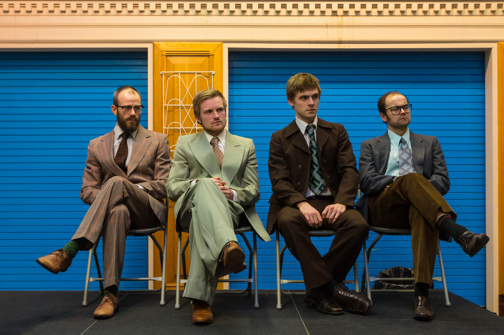 OLIVER DEVOTI AS MICHAEL STEED, DEAN GREGORY AS KEN PILLING, JOSEPH CARTER AS RAY GOSLING, MICHAEL JUSTICE AS ALLAN HORSFALL