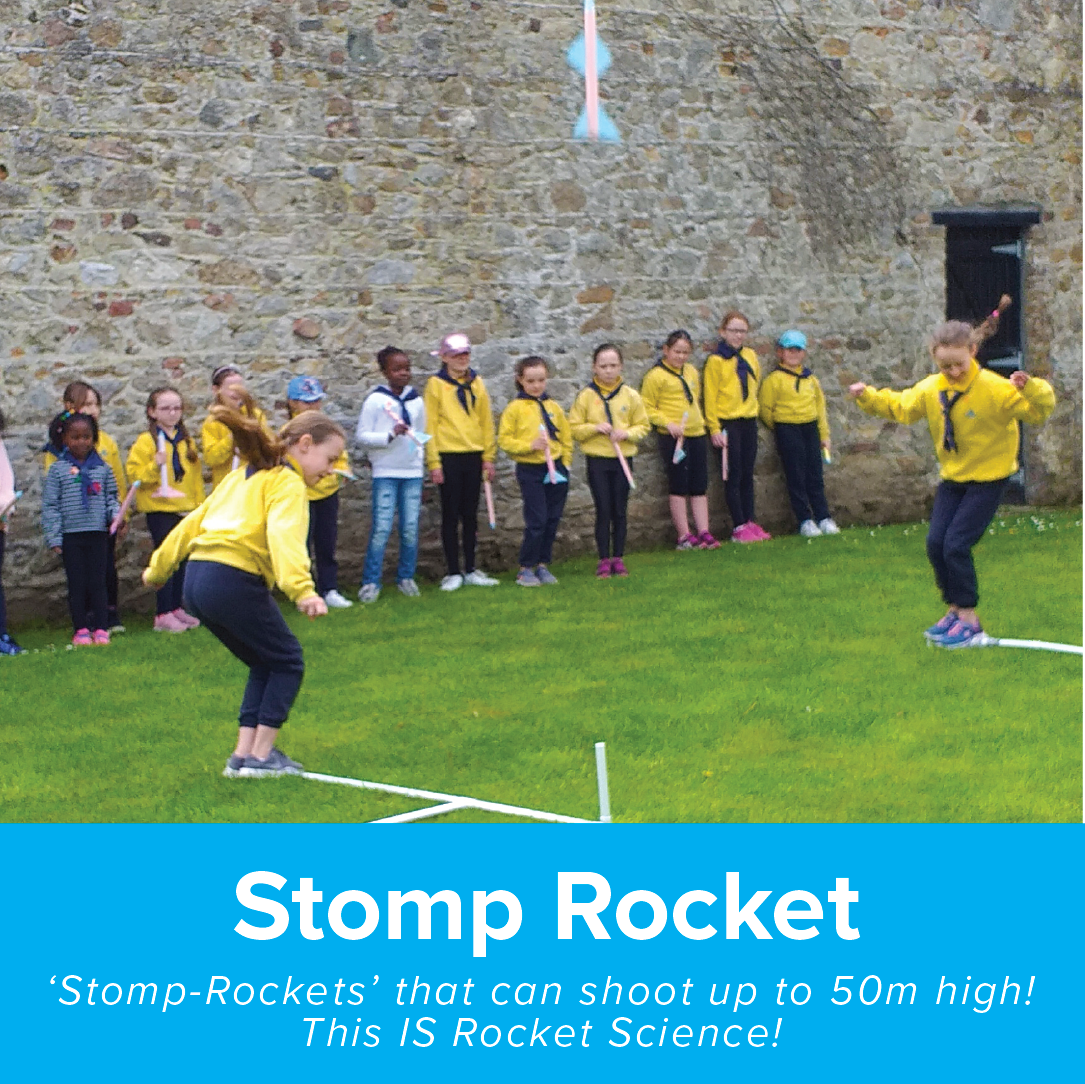 Stomp Rocket Cool Planet Experience
