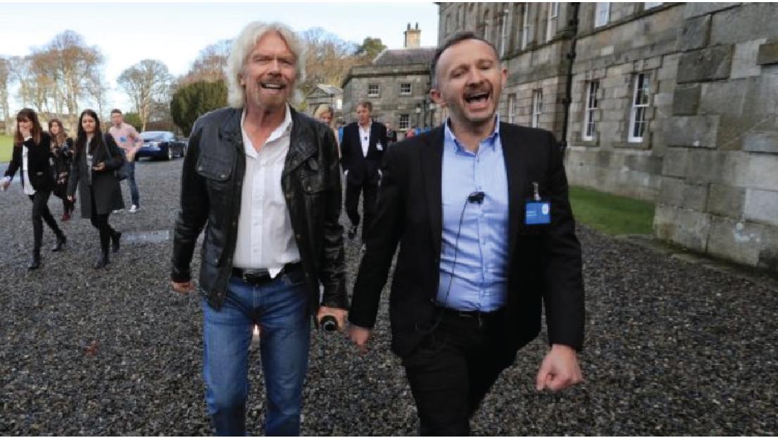 Irish Times:  Richard Branson cuts ribbon on Wicklow climate change visitor centre