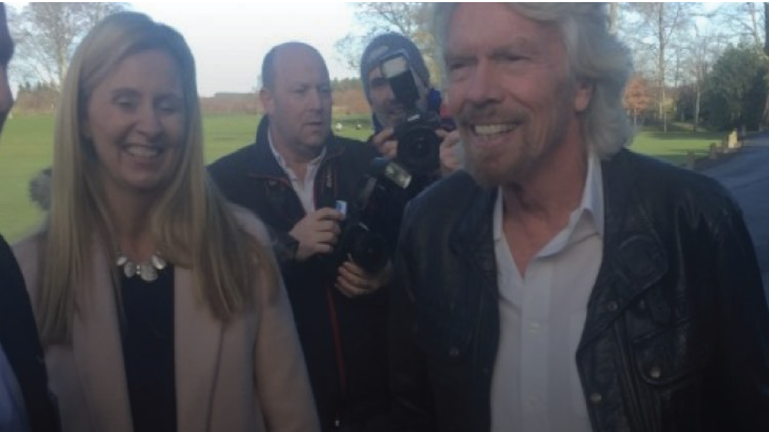 Today FM:  Sir Richard Branson Launches Climate Change Exhibit In Wicklow