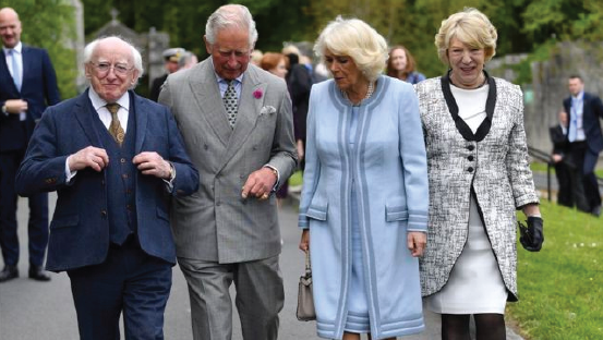 BBC:  Charles and Camilla Visit Wicklow