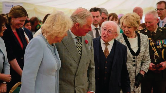 Irish Times:  Prince Charles urges continued close ties 'whatever happens'