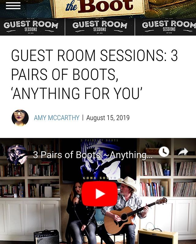 TheBoot.com is hosting an intimate living room live performance by 3 Pairs of Boots! Link in the bio ... #theboot.com #madisonhouse #crossovertouring #atomicmusicgroup #concertedefforts #highroadtouring #paradigmtalent #newfrontier #mongrelmusic #red1music #APA #rockwoodtouring #fliartists #myriadartists #lostbuffaloartists #quicksilverartists #jaylane #bobweir #gratefuldead #deadandcompany #bobweirandwolfbros #johnmayer #darkstarorchestra #jerrygarciaband #JRAD #headcount #gdhour #livedeadco #primus #oliviamanagement