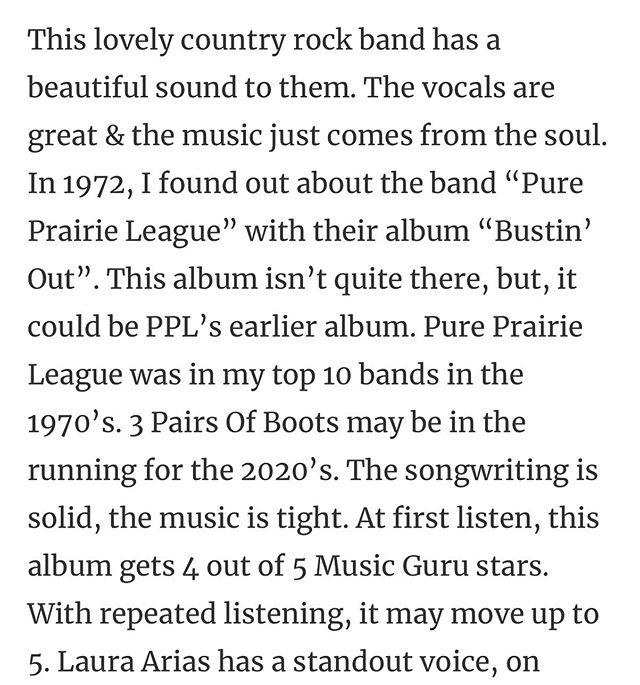 3POB gets another good review on Music Guru! We r honored and humbled by these kind words. #madisonhouse #crossovertouring #atomicmusicgroup #concertedefforts #highroadtouring #paradigmtalent #newfrontier #mongrelmusic #red1music #APA #rockwoodtouring #fliartists #myriadartists #lostbuffaloartists #quicksilverartists #bmi #oliviamanagement