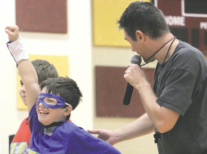 SUPER HERO KID - MICHIGAN SCHOOL