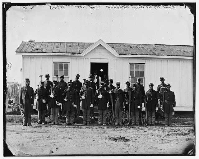 Detroit, Michigan had one of the highest number of black troops in the Civil War. The 102nd Colored Troops from the State of Michigan had more then 1600 recruits. Many of these men had fled slavery via the Underground Railroad and went back to fight for their freedom.
