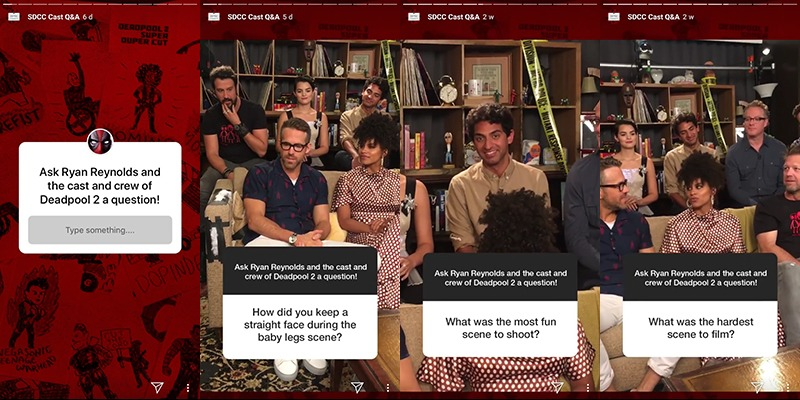 Livestream Q&A on Instagram