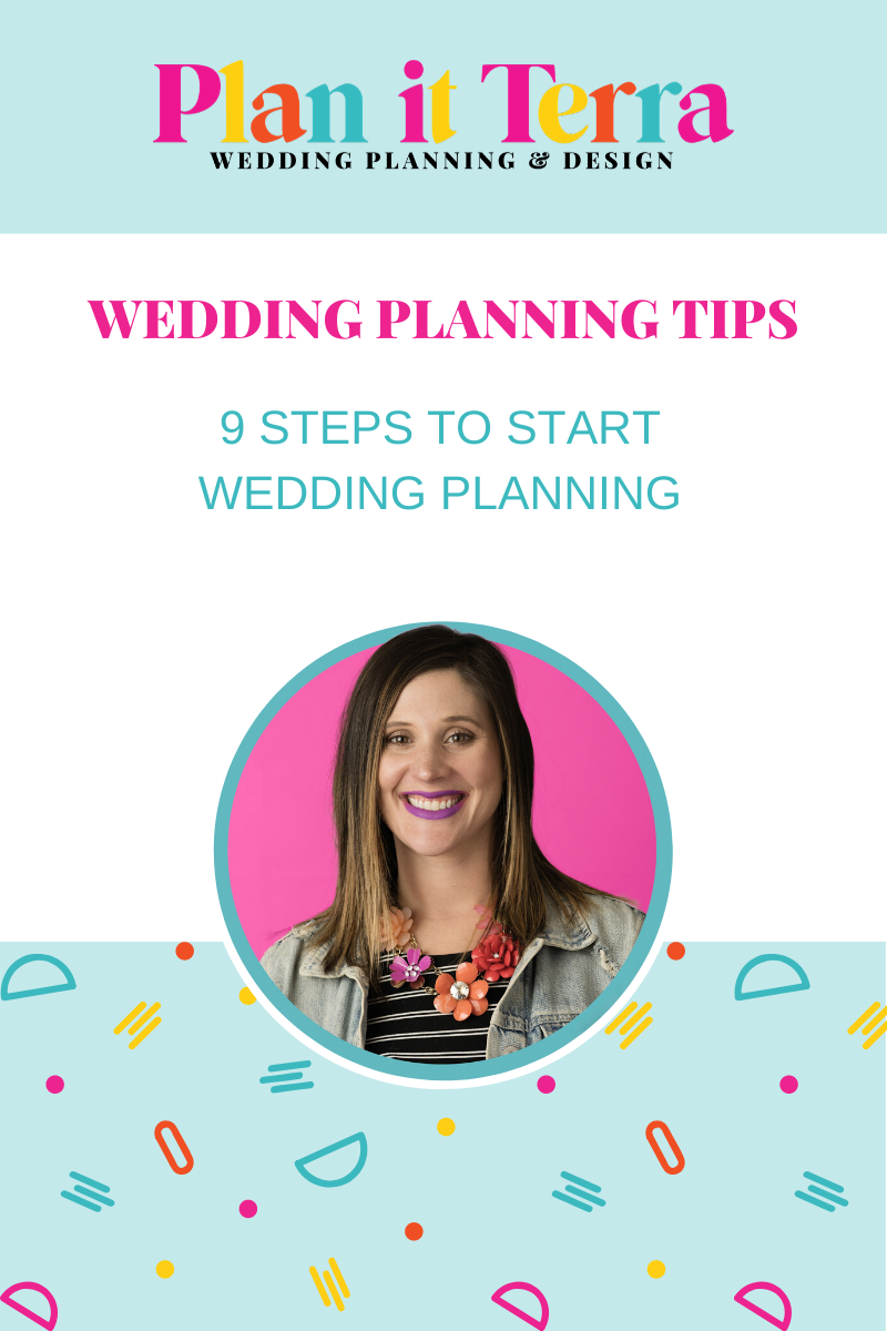 9 Tips To Start Planning Your Wedding Plan It Terra