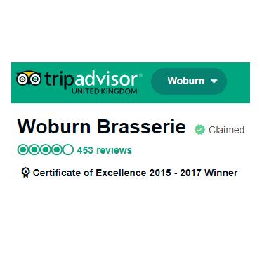 tripadvisor woburn brasserie awards restaurant.png