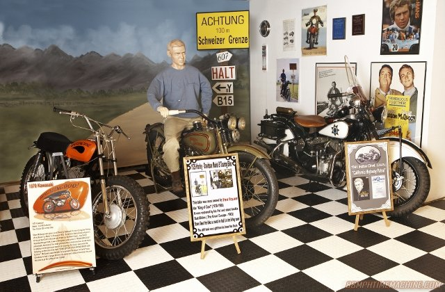 Steve McQueen motorcycle collection