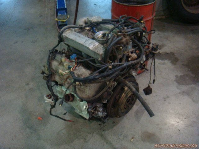 Original, tired PRV engine.