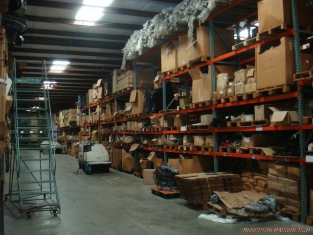Aisles and aisles of parts!