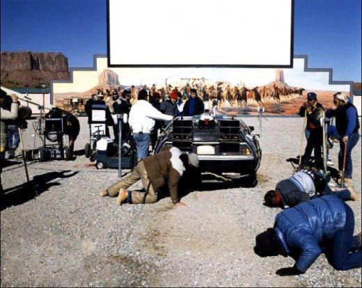 BTTF III DeLorean On Set Picture10.jpg