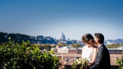 Anna & Daniel - Wedding at the National Institute of Roman Studies