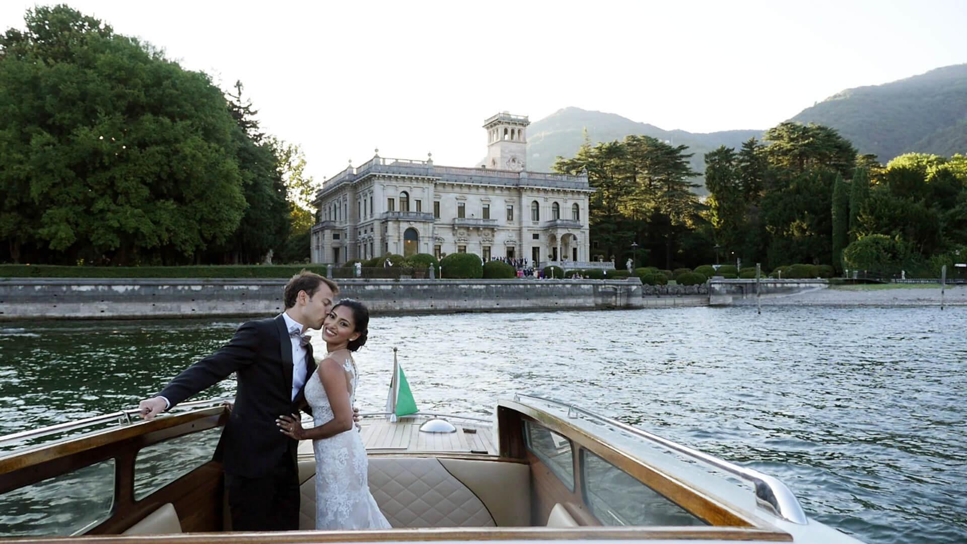 Ash & Maurizio - Wedding at Villa Erba, Como