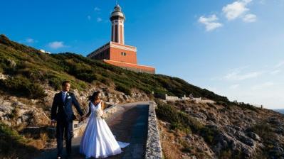 Danielle e James - Matrimonio a Capri