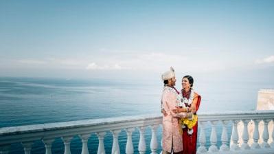 Jessie e Shankar - Matrimonio Hindu in Costiera Amalfitana
