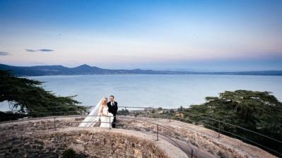 Eeman e Shane - Matrimonio al Castello Odescalchi di Bracciano