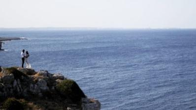 Cristina e Massimo - Fidanzamento in Puglia