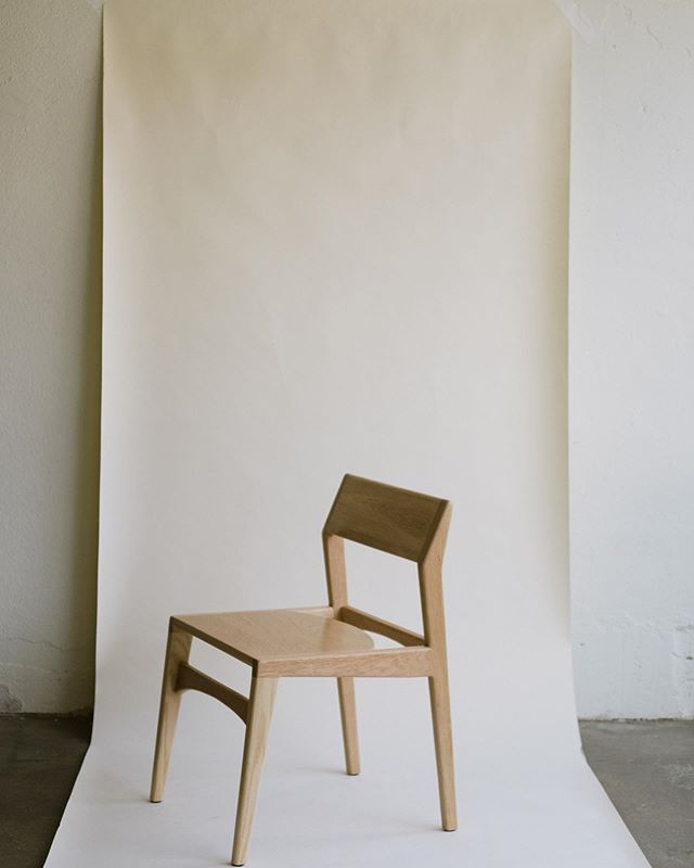 Anderson chair in white oak